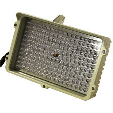 New US-LED-IR200 White LED Spot Light 350 Feet 198 Led light with Power Supply