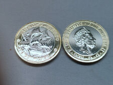 UK 2020 GREAT BRITAIN   £2 Two Pounds Mayflower coin BU