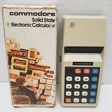 Vintage Rare Commodore Solid State Electronic Calculator Solid State USA 776M