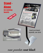STAND For YOUR Existing Car Show Board NEW Flat Black