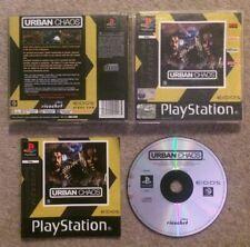 Urban Chaos (Sony PlayStation 1, PS1, 2000)