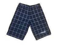 Billabong Mens W 32 Check Walking / Golf Checked Shorts