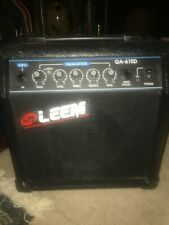 More details for small practice guitar amp by lm leem  ga 610d 16 watts