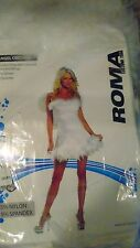 """""""ANGEL"""" WITH WINGS. ADULT WOMEN'S COSTUME, SIZE MED/LARGE,  NEW COND."""