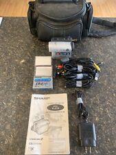 Sharp Viewcam VL-Z3U Mini DV Camcorder Bundle