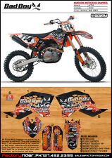 Bad Boy  Motocross Graphics KTM EXC 2008-2011 Dirt Bike Graphics Kit