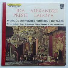 IDA PRESTI ALEXANDRE LAGOYA Musique espagnole pour deux guitares 6504020