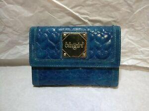 Portafoglio donna Blugirl Bluemarine colore azzurro - Usato in buone condizioni