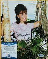 Dawn Wells signed 8x10 photo coa beckett Bas GILLIGAN'S ISLAND  autographed