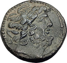 ANTIOCH on the OROTNES in SELEUKIS 63BC Authentic Ancient Greek Coin Zeus i65126