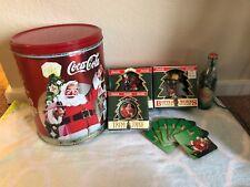 """Coca Cola"" Christmas (Lot of 6 Items)"