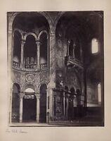 San Vitale Nuovo Ravenna Italia Vintage Albumina Ca 1870