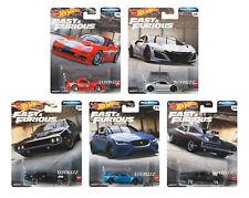 Hot Wheels 1 64 2020 Fast & Furious completo Force Gbw75-956h Custodia di 10