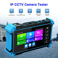 "5"" IPC Camera Tester AHD CVI TVI SDI CVBS Security Test Analog Touchscreen"