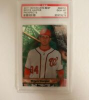 2011 Bowmans Best Prospects Bryce Harper #BBP51 PSA 10 Gem Mint