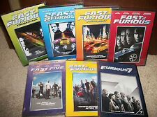 New! The FAST and the FURIOUS DVD Collection! 7 MOVIES 1 2 3 4 5 6 7 Sets! &
