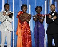 Chadwick Boseman Photo 4x6 Black Panther Cast Golden Globe Awards
