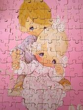 PRECIOUS MOMENTS kids jigsaw puzzle 1990 teardrop eyes SAM BUTCHER children