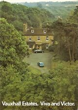 Vauxhall Viva HC Victor FE Estate 1972-73 UK Market Sales Brochure