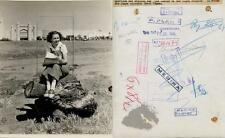 Olivia de Havilland. Fotografía de la jovencísima artista de cine, 12/JUL/1936.