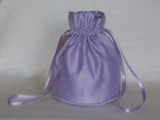 Pale lilac duchess satin dolly bag for bridesmaid /eveningwear / prom