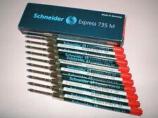 10x Schneider Express 735 M rot G2-Format Großraummine 7362 NEU&OVP