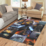 Hot New Floor Rug Home Mat Custom Godzilla Area Rug Decorative Cover Carpet