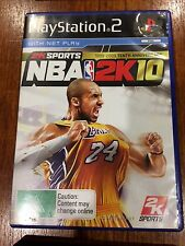 NBA 2k10, PS2, complete, tested, PlayStation 2