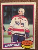 1980-81 O-Pee-Chee OPC #195 Mike Gartner Rookie Card RC NRMT=====AK
