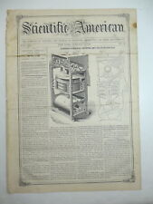 Propulsion Power, Extension Table, Smutter & Grain Separator, Old Article 1858