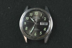Seiko 5 Sportsmatic 6619-8060 Vietnam War Automatic Watch Head Only READ