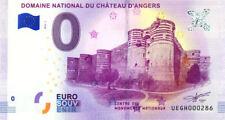 49 ANGERS Château, N° de la 3ème liasse, 2018, Billet 0 € Souvenir