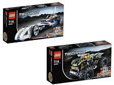 LEGO® Technic 42033 + 42034 Action Raketenauto + Action Quad NEU OVP NEW MISB