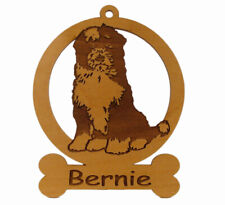 Tibetan Terrier Ornament 084174 Personalized With Your Dog's Name