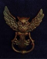 DOOR KNOCKER - CAST IRON OWL DOOR KNOCKER!!