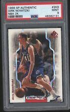 1998 SP Authentic NBA 2K DIRK NOWITZKI Rookie RC Mint 131 PSA 9