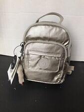 Kipling Alber 3-in-1 Convertible Bag Backpack Grey Metallic/ Silver