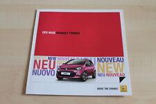 99888) Renault Twingo Prospekt 08/2011