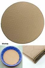 Round Machine Washable, Reusable Pee Puppy Training Pad/Quilted, Fast Absorption