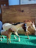 "Breyer Traditional ""Cowboy Pride Ranch Horse Set"" JCP Holiday Catalog 1998"