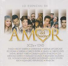 CD - Various Artist NEW Amor Del Bueno 3 CD/1 DVD  -FAST SHIPPING !