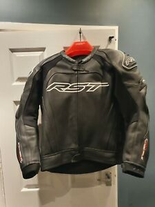 RST Tractech Evo 3 Leather Motorcycle Suit 2 piece suit motorbike