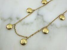 J Crew Gold Tone Locket Necklace - Long Necklaces for Women