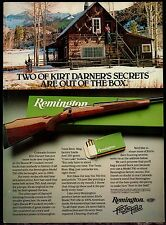 1981 REMINGTON 700 Rifle AD disgraced Kirk Darner Photo at Colorado Cabin