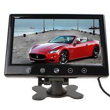 17,8 cm LCD TFT 7 AUTO MONITOR für Rückfahrkamera mit Einbaurahmen  Kopfstütze