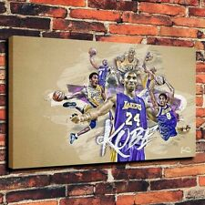 CHPT80 charming HD Print Oil Painting Decor art Canvas,Kobe Bryant Basketball