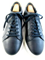 "NEW Allen Edmonds ""COURTSIDE"" Low-Top Leather Dress Sneakers 10 D  Black  (548)"
