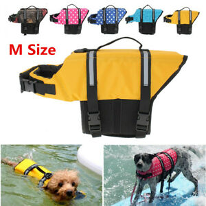 Pet Dog Cat Buoyancy Aid Swimming Boating Life Jacket Safety Float Vest Saver