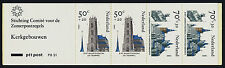 Netherlands B614a Booklet Pb31 Mnh Architecture, Churches