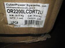 Cyberpower Smart App Intelligent Lcd Or2200lcdrt2u 2200va Ups Lcd Rt - 2